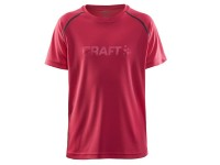 Craft. Футболка CRAFT RUN SS TEE JUNIOR