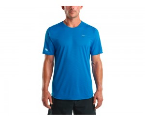 Saucony. HYDROLITE SHORT SLEEVE DIRECTOIRE BLUE
