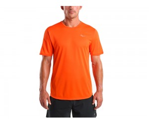 Saucony. HYDROLITE SHORT SLEEVE FLAME